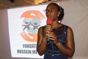 Mme Kouassi, Directrice exécutive de la a fondation
